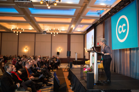 Speaking at the CC Global Summit 2018 - Toronto